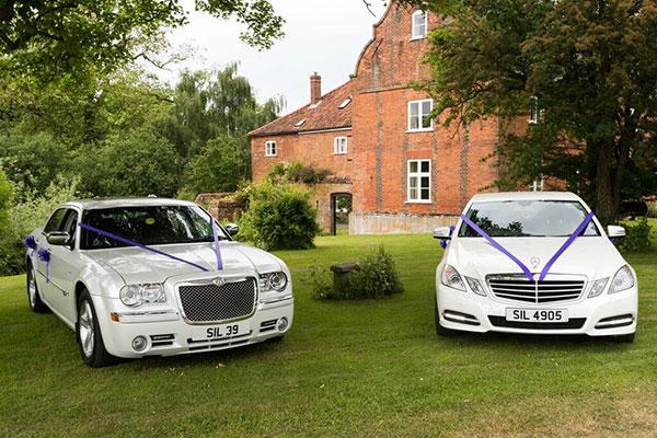 Executive wedding car hire Norfolk