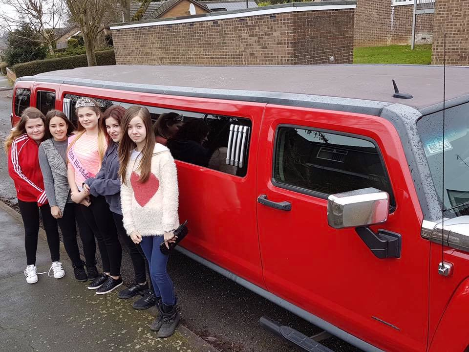 Hummer Limousine Birthday Parties