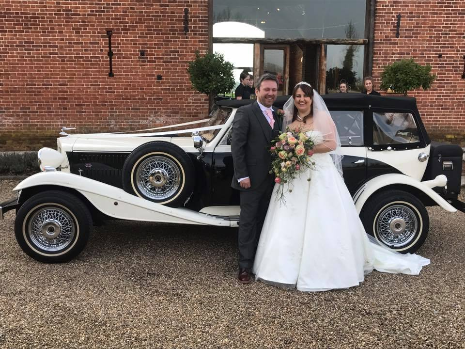 Beauford Wedding Car at Southwood Hall