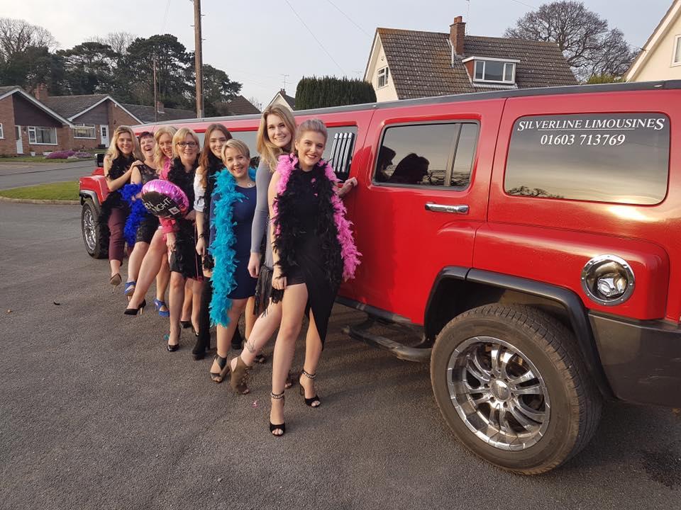 Hummer Limousine Hen party