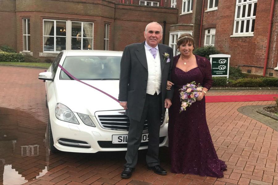 Executive wedding car hire