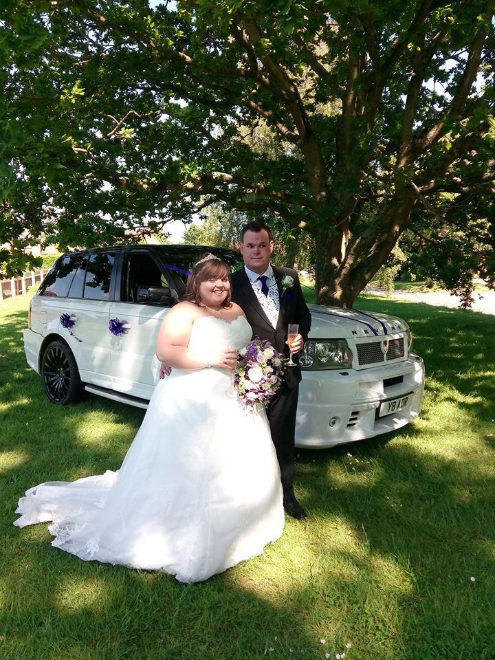 Range Rover Revere Wedding