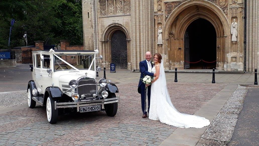 Imperial Landaulette Wedding at Norwich Cathedral