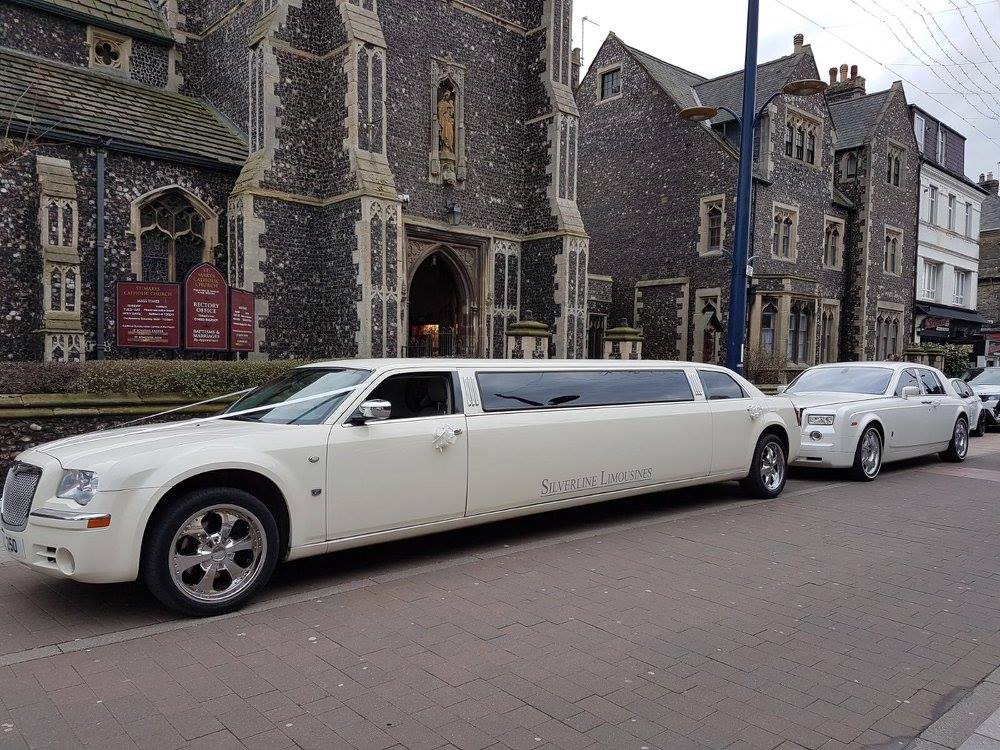 Wedding Car Hire Great Yarmouth - Silverline Limousines