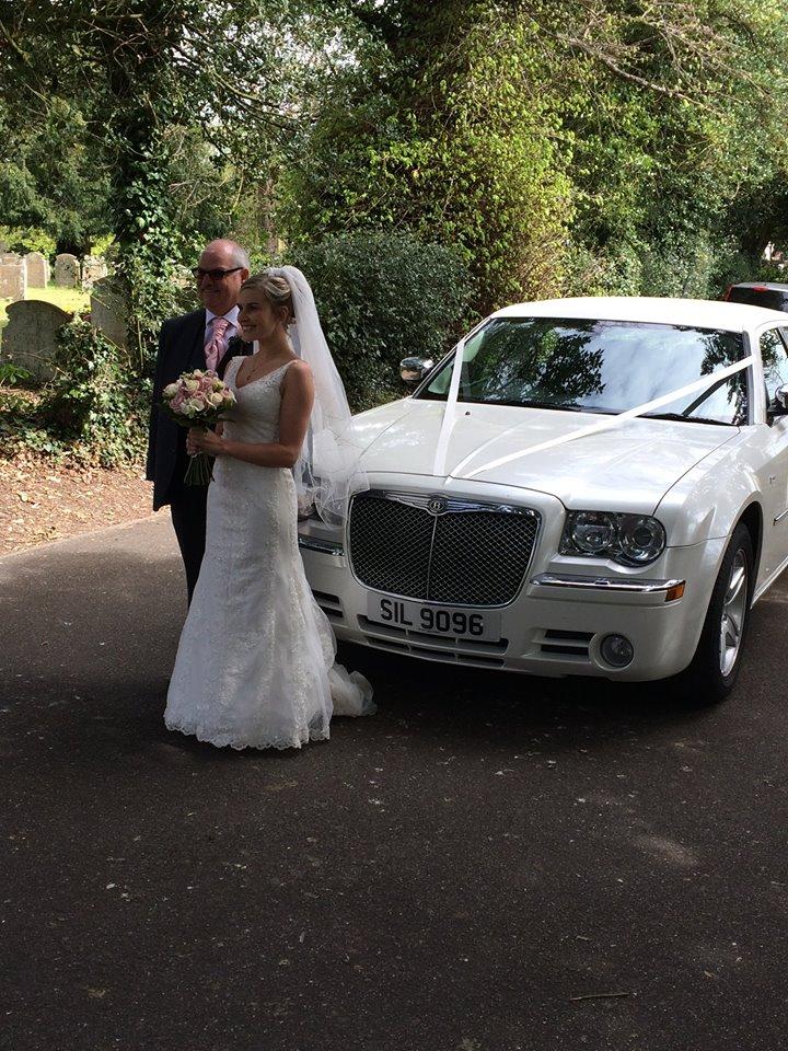 Chrysler Saloon Wedding Car Hire Norwich