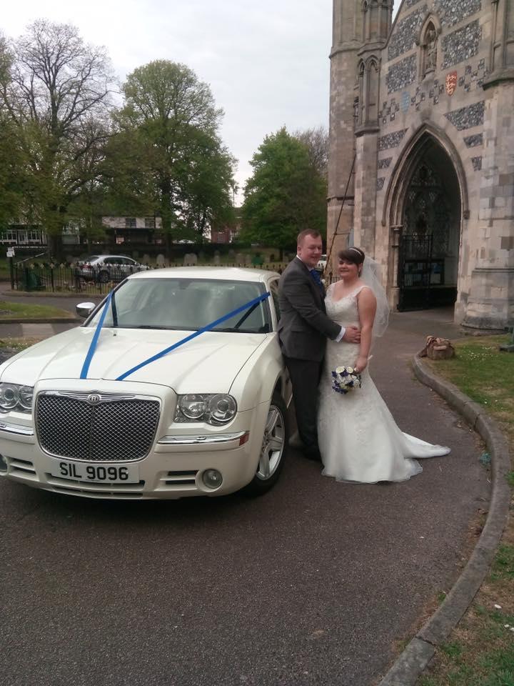 Chrysler Saloon Wedding Car