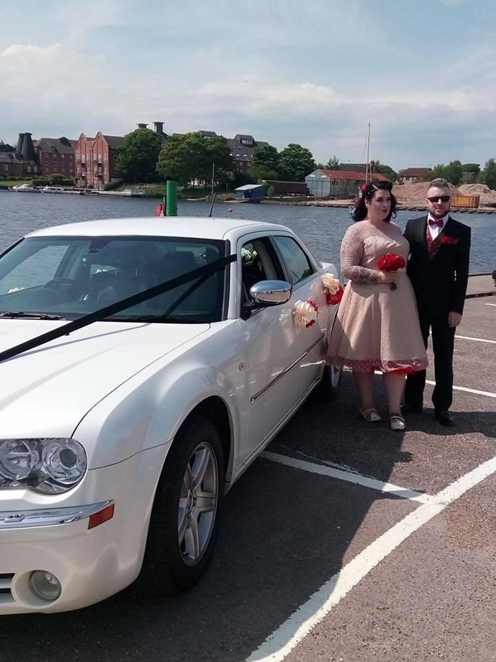 Chrysler Saloon Wedding at The Wherry Hotel