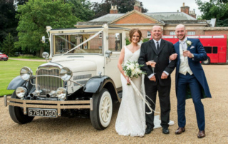 Imperial Landaulette Wedding at Kimberley Hall