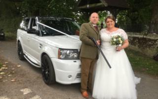 Range Rover Shotgun Wedding