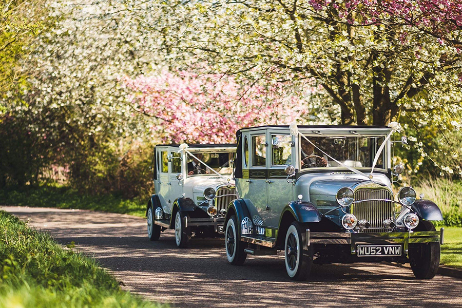 Vintage Wedding Cars from Silverline Limousines